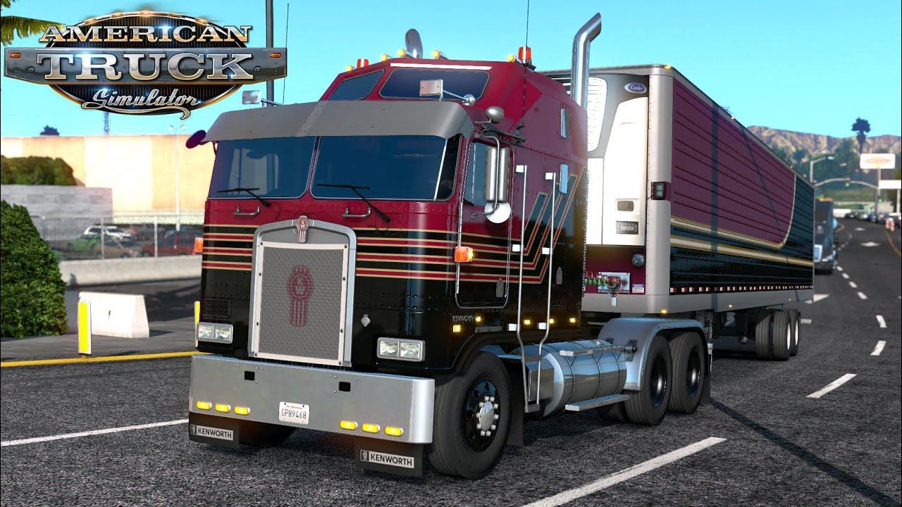 ATS 1.36: Kenworth K100-E (Best truck in American Truck ...