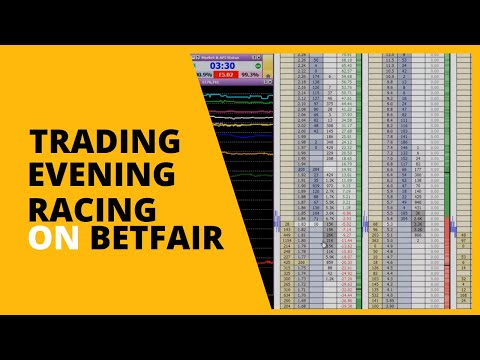 Swing trading evening race on Betfair by Caan Berry