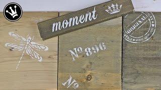 Holz mit Kaffee, Essigessenz und Stahlwolle verwittern/altern lassen/Treibholz-Effekt | Tutorial/DIY