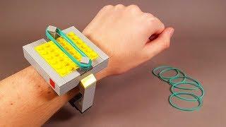 як зробити годинник з лего