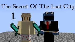 The Secret of The Lost City w/ BlueSandvich - Part 1 (Minecraft)