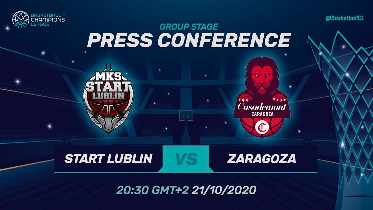 LIVE 🔴 Pszczólka Start Lublin v Casademont Zaragoza - PC