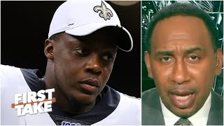 Stephen A. isn't sold on new Panthers QB Teddy Bridgewater as a 'winner' | First Take