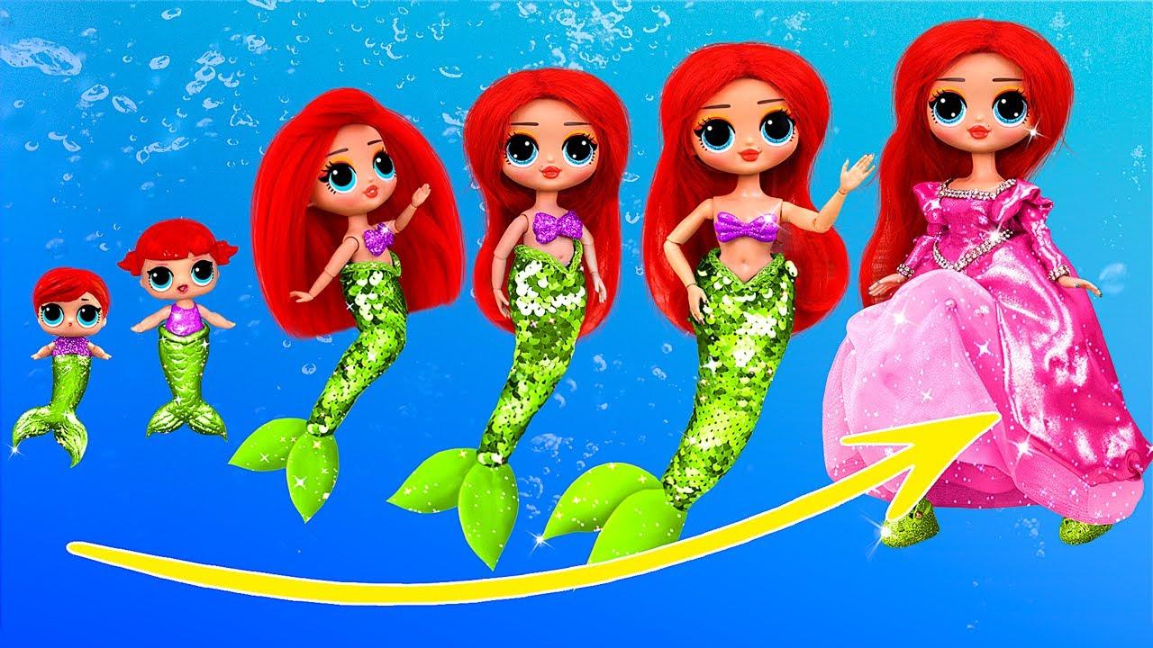 Download Mermaid Growing Up / 10 LOL Surprise DIYs
