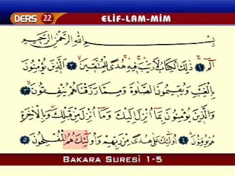 Kur'an-ı Kerim Öğreniyorum - Elif-Lam-Mim