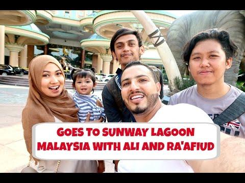 JALAN-JALAN KE SUNWAY LAGOON MALAYSIA WITH ALI DAN RAAFIUD | MAIL TIME | VLOG BAHASA