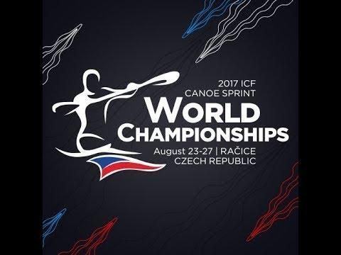 #ICFsprint #ICFparacanoe 2017 World Championships, Racice, Saturday morning FINALS