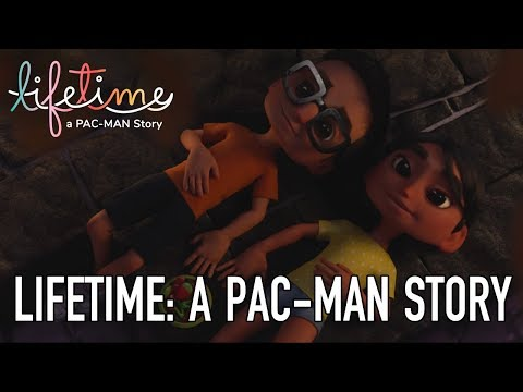"""PAC-MAN X PrimerFrame presents: """"Lifetime: A PAC-MAN Story"""""""