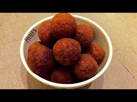 Narkel Naru : Gurer Naru : Coconut Ladoo : Indian Coconut Confection With Jaggery : নারকেল নাড়ু