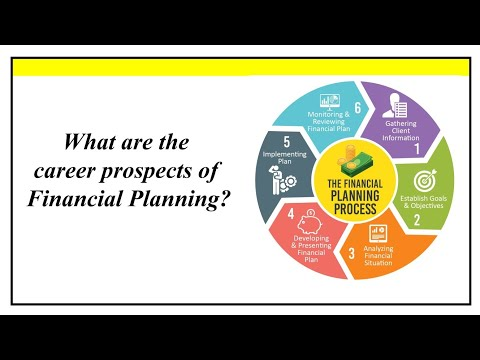 What Are The Career Prospects Of Financial Planning | CFP | Certified Financial Planner