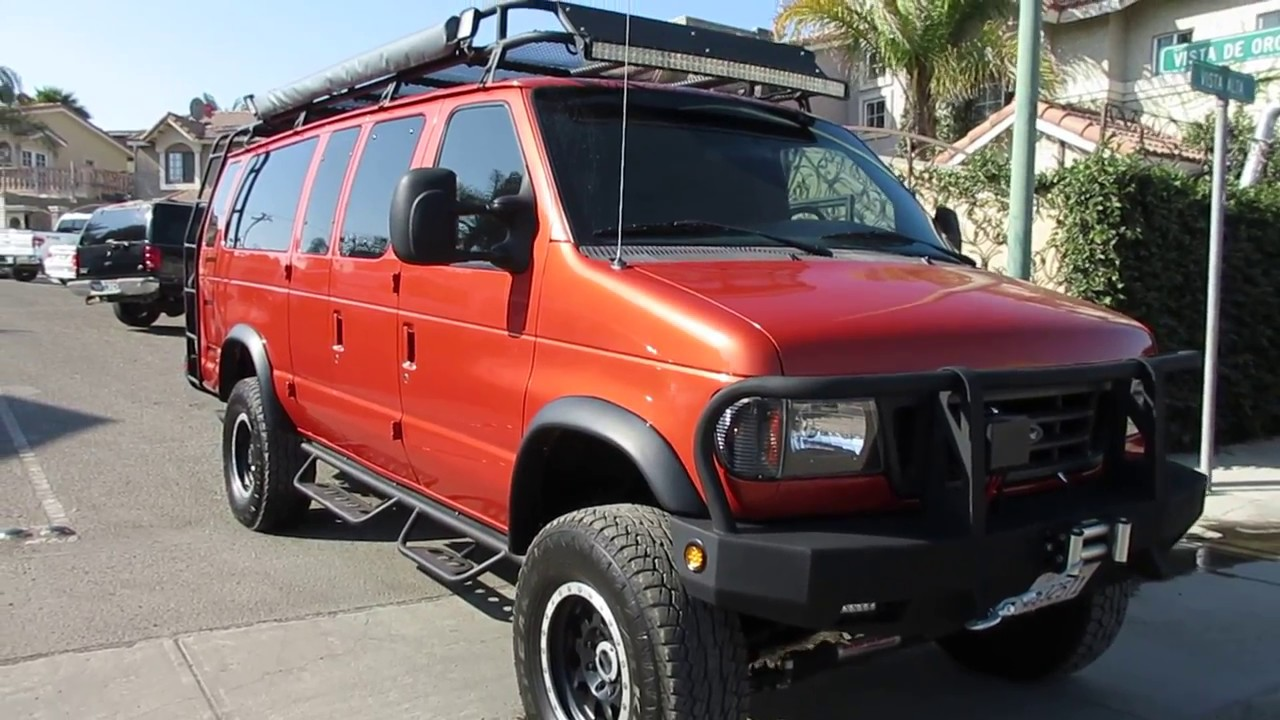 2000 ford e350 15 passenger 7 3 diesel 39 39 big orange 39 youtube. Black Bedroom Furniture Sets. Home Design Ideas