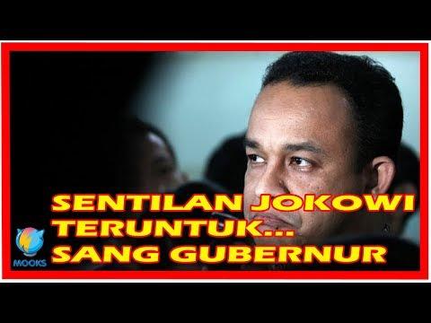 Sentilan Jokowi Buat Anies-Sandi