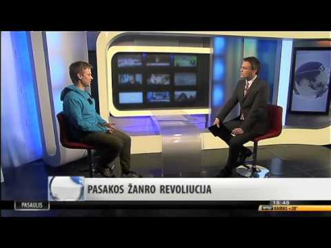 """PASAKOS ŽANRO REVOLIUCIJA: Interaktyvi pasaka-programėlė """"Sliekas Bevardis"""" INFO TV  eteryje"""