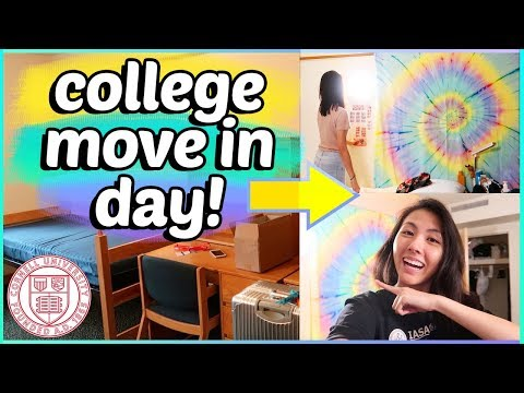 📦COLLEGE MOVE IN DAY Vlog 2018! Freshman @ Cornell University ​| Katie Tracy