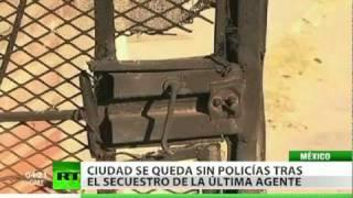 Una ciudad mexicana queda sin policía tras el secuestro de la última agente