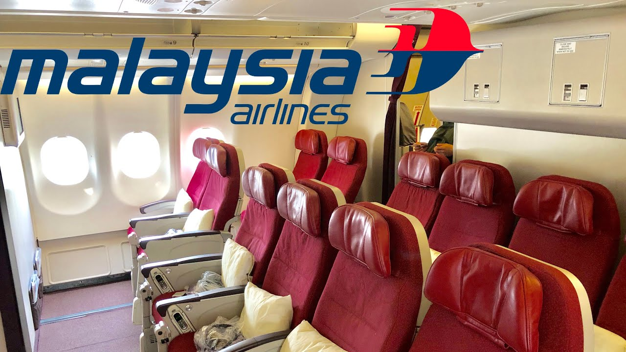MALAYSIA AIRLINES A330-300 Economy with EXTRA legroom! HKG-KUL