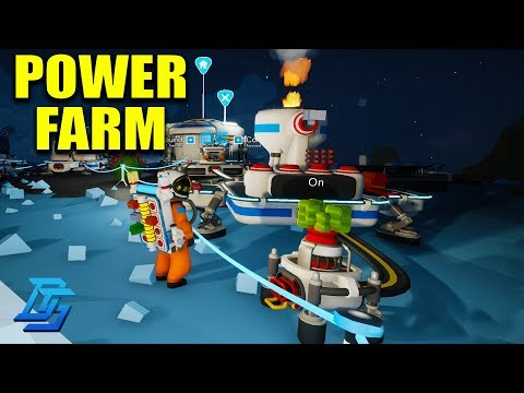 BUILDING A POWER FARM, NEW MEMBER, SMELTING, MULTIPLAYER LETS PLAY - Astroneer - Pt.2