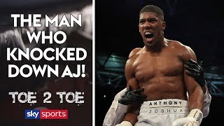 Video The man who knocked down Anthony Joshua! | Toe 2 Toe download MP3, 3GP, MP4, WEBM, AVI, FLV Januari 2018