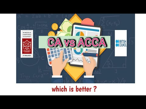 CA Vs ACCA . Which Is Better In Bangladesh