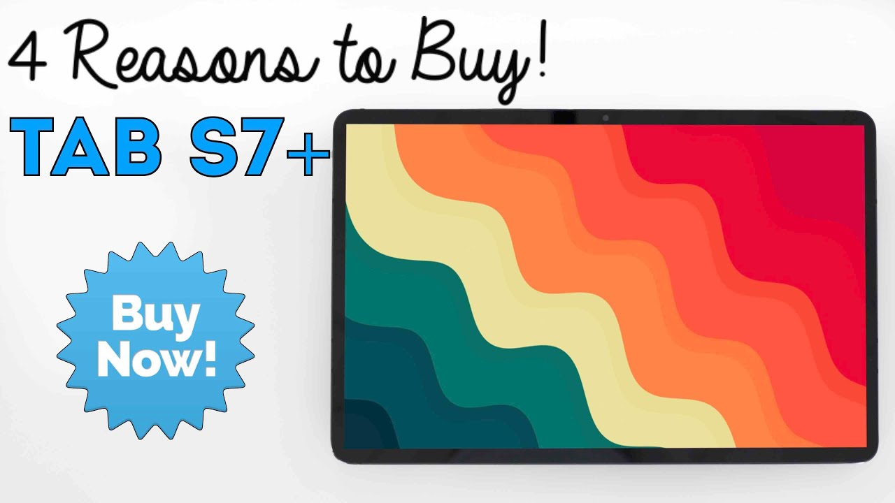 Samsung Galaxy Tab S7 Plus - 4 Reasons to Buy - REVIEW! (6 Months Later)