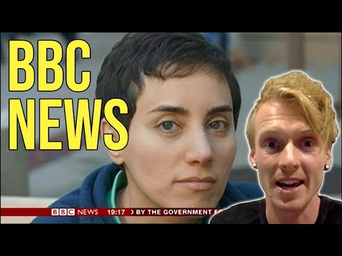 BBC News Maryam Mirzakhani - first woman to win the Fields Medal