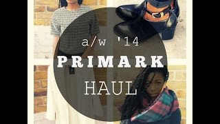 PRIMARK HAUL- Autumn / Winter 2014 Thumbnail