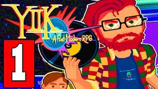 YIIK A Postmodern RPG: Gameplay Walkthrough Part 1 (FULL GAME) Lets Play Playthrough PS4 PC Switch