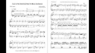 Gambar cover Carol of the Bells / God Rest Ye Merry Gentlemen (Easy Piano)