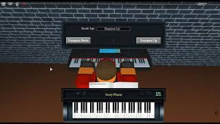 Dogsong - Undertale Track 21 by: Toby Fox on a ROBLOX piano.