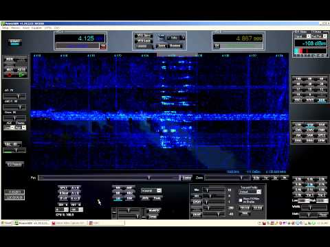 Shortwave Radio - Bermuda Radio Abandon Ship Sail Vessel 'Elle'