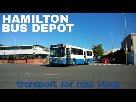 Transport for NSW Vlog No.951 Hamilton Bus Depot