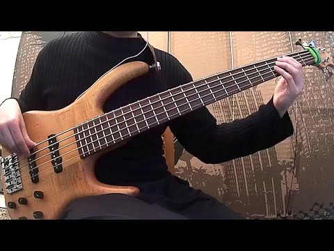 Guthrie Govan - Wonderful Slippery Thing (Bass Cover)
