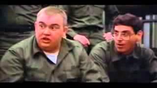 Classic bit describing his motivation for enlistment. Stripes movie...