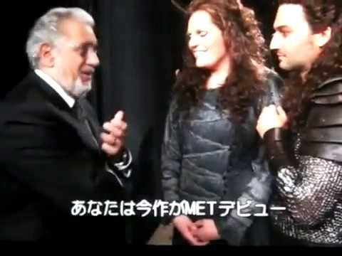 Plácido Domingo interviews Jonas Kaufmann & Eva Maria Westbroek - Die Walkure