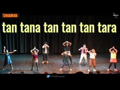 Tan Tana Tan Tan Tan Tara  Banja Meri Rani  tu Mera Boyfriend  Remix  Shiamak Bollywood Rocks 2018
