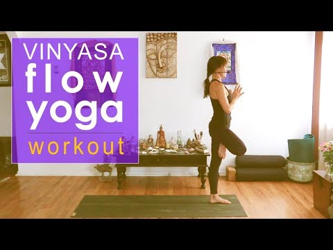 Empowering Vinyasa Flow Yoga Workout Class