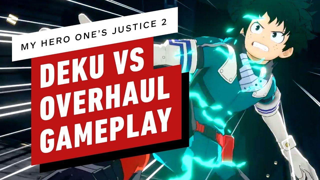 My Hero One's Justice 2 - Deku (Shoot Style) vs análise da gameplay + vídeo