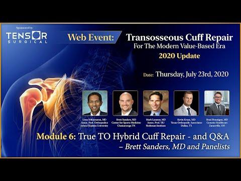 Webinar: Transosseous Rotator Cuff Repair for the Modern Value-Based Era