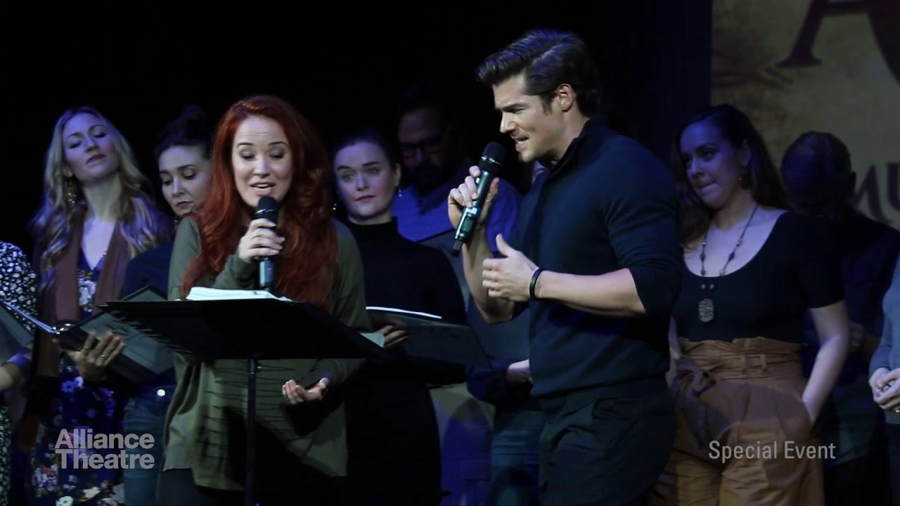 Sierra Boggess, Tim Rogan and Cast Sing