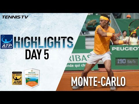 Highlights: Nadal, Djokovic, Cilic, Nishikori Through To Next Round