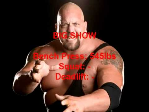 Top 10 Strongest WWE Wrestlers (Bench Press Numbers) - YouTube
