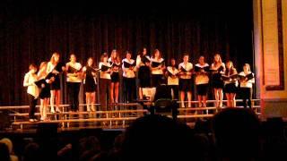 Dana Hall Chamber Singers performing Same Ol' Blues