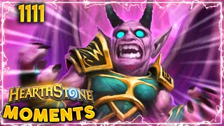Please Don't Play This Deck | Hearthstone Daily Moments Ep.1111