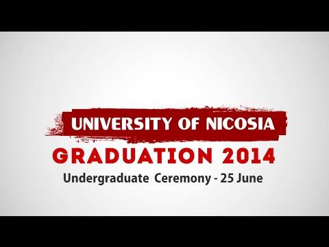 Undergraduates Graduation Ceremony 2014 - University of Nicosia