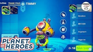 TIMMY - PLANET OF HEROES - MOBA 5V5 GAMEPLAY