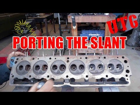 Hot Rodding The Slant Six - Porting The Head