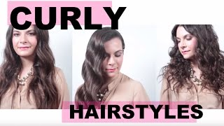 3 Different Tricks to Curl Long Hair