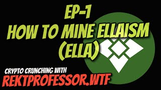 How to Mine Ellaism (ELLA) | Easy Claymore Miner for NVIDIA on Windows