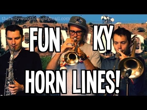 Funky A Capella Horn Lines!