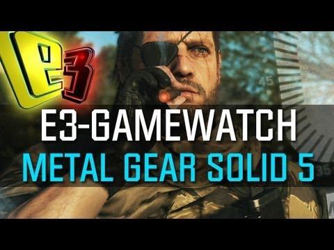 Gamewatch: Metal Gear Solid 5 - Gameplay-Demo zu The Phantom Pain auseinandergenommen